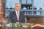 Staatsakt 60 Jahre Staatsvertrag - Oberes Belvedere - Fr 15.05.2015 - Werner FAYMANN bei Ansprache101
