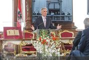 Staatsakt 60 Jahre Staatsvertrag - Oberes Belvedere - Fr 15.05.2015 - Werner FAYMANN bei Ansprache103