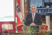 Staatsakt 60 Jahre Staatsvertrag - Oberes Belvedere - Fr 15.05.2015 - Werner FAYMANN bei Ansprache108