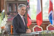Staatsakt 60 Jahre Staatsvertrag - Oberes Belvedere - Fr 15.05.2015 - Werner FAYMANN bei Ansprache110