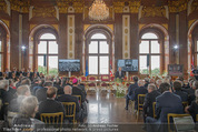 Staatsakt 60 Jahre Staatsvertrag - Oberes Belvedere - Fr 15.05.2015 - Festsaal, Publikum, Marmorsaal111