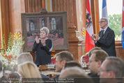 Staatsakt 60 Jahre Staatsvertrag - Oberes Belvedere - Fr 15.05.2015 - Elisabeth ORT, Michael HELTAU117