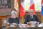 Staatsakt 60 Jahre Staatsvertrag - Oberes Belvedere - Fr 15.05.2015 - Elisabeth ORT, Michael HELTAU118