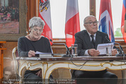 Staatsakt 60 Jahre Staatsvertrag - Oberes Belvedere - Fr 15.05.2015 - Elisabeth ORT, Michael HELTAU119