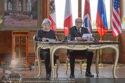 Staatsakt 60 Jahre Staatsvertrag - Oberes Belvedere - Fr 15.05.2015 - Elisabeth ORT, Michael HELTAU120