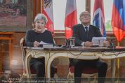 Staatsakt 60 Jahre Staatsvertrag - Oberes Belvedere - Fr 15.05.2015 - Elisabeth ORT, Michael HELTAU121