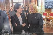 Staatsakt 60 Jahre Staatsvertrag - Oberes Belvedere - Fr 15.05.2015 - Gabriele HEINISCH-HOSEK, Doris BURES125