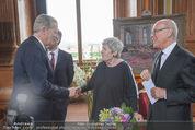 Staatsakt 60 Jahre Staatsvertrag - Oberes Belvedere - Fr 15.05.2015 - Elisabeth ORT, Michael HELTAU, Reinhold MITTERLEHNER129