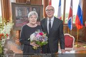Staatsakt 60 Jahre Staatsvertrag - Oberes Belvedere - Fr 15.05.2015 - Elisabeth ORT, Michael HELTAU133