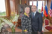 Staatsakt 60 Jahre Staatsvertrag - Oberes Belvedere - Fr 15.05.2015 - Agnes HUSSLEIN, Dominique MEYER141