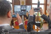 Staatsakt 60 Jahre Staatsvertrag - Oberes Belvedere - Fr 15.05.2015 - Handyfotos vom Staatsvertragsfoto143