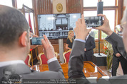 Staatsakt 60 Jahre Staatsvertrag - Oberes Belvedere - Fr 15.05.2015 - Handyfotos vom Staatsvertragsfoto144