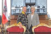Staatsakt 60 Jahre Staatsvertrag - Oberes Belvedere - Fr 15.05.2015 - Annemarie FIGL, Agnes HUSSLEIN146