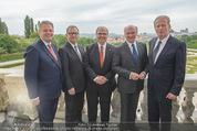 Staatsakt 60 Jahre Staatsvertrag - Oberes Belvedere - Fr 15.05.2015 - A.RUPPRECHTER, K. KOPF, W. BRANDSTETTER, E. PR�LL, MITTERLEHNER154