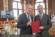 Staatsakt 60 Jahre Staatsvertrag - Oberes Belvedere - Fr 15.05.2015 - Reinhold MITTERLEHNER, Christoph LEITL155