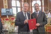 Staatsakt 60 Jahre Staatsvertrag - Oberes Belvedere - Fr 15.05.2015 - Reinhold MITTERLEHNER, Christoph LEITL156