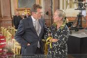 Staatsakt 60 Jahre Staatsvertrag - Oberes Belvedere - Fr 15.05.2015 - Ernst HUBER, Agnes HUSSLEIN157