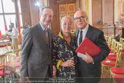 Staatsakt 60 Jahre Staatsvertrag - Oberes Belvedere - Fr 15.05.2015 - Christoph LEITL, Agens HUSSLEIN, Michael HELTAU162