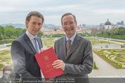 Staatsakt 60 Jahre Staatsvertrag - Oberes Belvedere - Fr 15.05.2015 - Sebastian KURZ, Christoph LEITL164