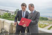 Staatsakt 60 Jahre Staatsvertrag - Oberes Belvedere - Fr 15.05.2015 - Sebastian KURZ, Christoph LEITL166