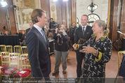 Staatsakt 60 Jahre Staatsvertrag - Oberes Belvedere - Fr 15.05.2015 - Agens HUSSLEIN, Sebastian KURZ18