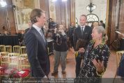 Staatsakt 60 Jahre Staatsvertrag - Oberes Belvedere - Fr 15.05.2015 - Agens HUSSLEIN, Sebastian KURZ19