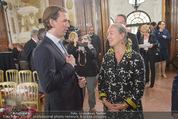 Staatsakt 60 Jahre Staatsvertrag - Oberes Belvedere - Fr 15.05.2015 - Agens HUSSLEIN, Sebastian KURZ20