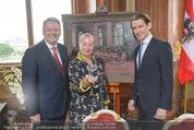 Staatsakt 60 Jahre Staatsvertrag - Oberes Belvedere - Fr 15.05.2015 - Agens HUSSLEIN, Sebastian KURZ, Andr� RUPPRECHTER22