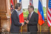 Staatsakt 60 Jahre Staatsvertrag - Oberes Belvedere - Fr 15.05.2015 - Sebastian KURZ23