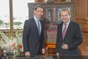 Staatsakt 60 Jahre Staatsvertrag - Oberes Belvedere - Fr 15.05.2015 - Sebastian KURZ24