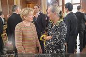 Staatsakt 60 Jahre Staatsvertrag - Oberes Belvedere - Fr 15.05.2015 - Karin BERGMANN, Agens HUSSLEIN25