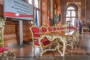 Staatsakt 60 Jahre Staatsvertrag - Oberes Belvedere - Fr 15.05.2015 - Original Tisch der Staatsvertragsunterzeichnung3