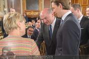 Staatsakt 60 Jahre Staatsvertrag - Oberes Belvedere - Fr 15.05.2015 - Karin BERGMANN, Sebastian KURZ, Erwin PR�LL30