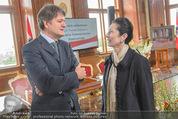 Staatsakt 60 Jahre Staatsvertrag - Oberes Belvedere - Fr 15.05.2015 - Helmuth BRANDST�TTER, Margot KLESTIL-L�FFLER31