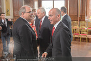 Staatsakt 60 Jahre Staatsvertrag - Oberes Belvedere - Fr 15.05.2015 - Wolfgang BRANDSTETTER, Gerald KLUG, Rudolf HUNDSTORFER33