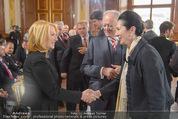 Staatsakt 60 Jahre Staatsvertrag - Oberes Belvedere - Fr 15.05.2015 - Doris BURES, Andreas KOHL, Margot KLESTIL-L�FFLER34