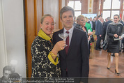 Staatsakt 60 Jahre Staatsvertrag - Oberes Belvedere - Fr 15.05.2015 - Agnes HUSSLEIN, Josef OSTERMAYER (mit original Molotow-Glas)36