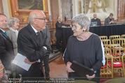 Staatsakt 60 Jahre Staatsvertrag - Oberes Belvedere - Fr 15.05.2015 - Michael HELTAU, Elisabeth ORT45