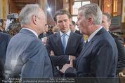 Staatsakt 60 Jahre Staatsvertrag - Oberes Belvedere - Fr 15.05.2015 - Sebastian KURZ, Reinhold MITTERLEHNER, Andreas KOHL49