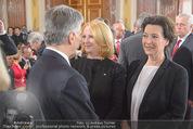 Staatsakt 60 Jahre Staatsvertrag - Oberes Belvedere - Fr 15.05.2015 - Werner FAYMANN, Doris BURES, Gabriele HEINISCH-HOSEK50