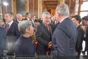 Staatsakt 60 Jahre Staatsvertrag - Oberes Belvedere - Fr 15.05.2015 - Heinz und Margit FISCHER, Reinhold MITTERLEHNER52