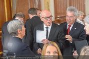 Staatsakt 60 Jahre Staatsvertrag - Oberes Belvedere - Fr 15.05.2015 - Heinz und Margit FISCHER, Michael HELTAU53