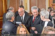 Staatsakt 60 Jahre Staatsvertrag - Oberes Belvedere - Fr 15.05.2015 - Heinz und Margit FISCHER, Michael HELTAU, Elisabeth ORTH54