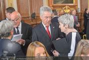 Staatsakt 60 Jahre Staatsvertrag - Oberes Belvedere - Fr 15.05.2015 - Heinz und Margit FISCHER, Michael HELTAU, Elisabeth ORTH55