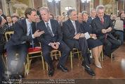 Staatsakt 60 Jahre Staatsvertrag - Oberes Belvedere - Fr 15.05.2015 - Sebastian KURZ, R.MITTERLEHNER, W. FAYMANN, Heinz u. M. FISCHER59
