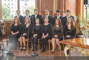 Staatsakt 60 Jahre Staatsvertrag - Oberes Belvedere - Fr 15.05.2015 - Chor63