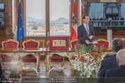 Staatsakt 60 Jahre Staatsvertrag - Oberes Belvedere - Fr 15.05.2015 - Sebastian KURZ bei Ansprache70