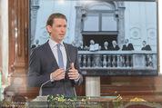 Staatsakt 60 Jahre Staatsvertrag - Oberes Belvedere - Fr 15.05.2015 - Sebastian KURZ bei Ansprache72