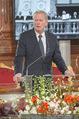 Staatsakt 60 Jahre Staatsvertrag - Oberes Belvedere - Fr 15.05.2015 - Reinhold MITTERLEHNER bei Ansprache73