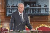 Staatsakt 60 Jahre Staatsvertrag - Oberes Belvedere - Fr 15.05.2015 - Reinhold MITTERLEHNER bei Ansprache74